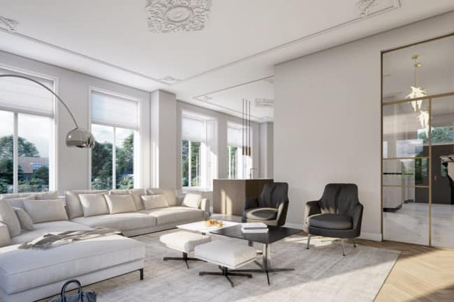 3d interieur visualisatie rendering